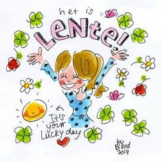 Het is lente!! It's your lucky day. - Blond Amsterdam