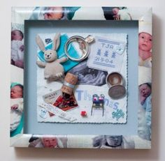 Brilliant 'Memories In a Box' from Bespoke Framing in Bucks