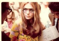 Gloria Steinem, journalist, founder of the feminist magazine Ms. Bianca Jagger, Charlotte Rampling, Gloria Steinem Young, Twiggy, Alexa Chung, Gloria Steinman, Riot Grrrl, Intersectional Feminism, Women In History