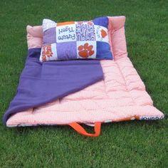 Clemson nap mat