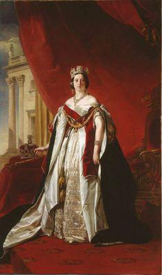 Franz Xaver Winterhalter, Queen Victoria, 1843