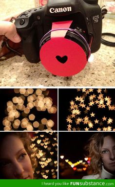 Photography Tutorials and Photo Tips Bokeh Valentine's variant - Great motifs for the photo book