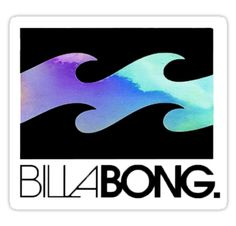 """Billabong"" Stickers by cassiepdesigns 