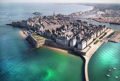 Saint Malo, France By Sabine De Villeroy