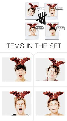 """5sos"" by cutepeppermint ❤ liked on Polyvore featuring art"