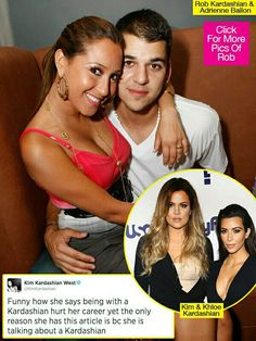 rob kardashians ex adrienne bailon opened up and spilled secrets about their relationship to