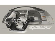 Flatau Florian - Audi Quattro concept interior render.