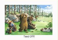 Bears Golfing Teed Off!