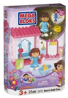 Megabloks Dora's Bath Time Fun