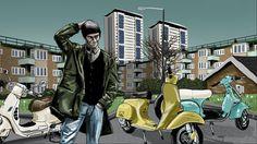 Peter O'Toole illustration