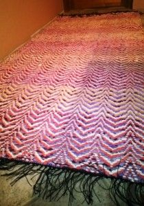 Elinan Erikoiset - Vuodatus.net Rya Rug, Weaving Patterns, Recycled Fabric, Korn, Woven Rug, Scandinavian Style, Pattern Design, Rugs, Home Decor