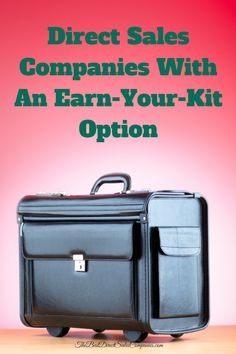 Direct Sales Companies With An Earn Your Kit Option