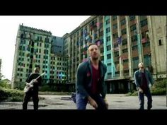 coldplay - every teardrop is a waterfall  a good music coolection can never be without COLDPLAY  coldplay= awesome music + innovative video
