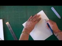Basic Cardfolds Tutorial.  LOVE all of her fold ideas!