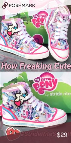 New Sweet Stride Rite for Little Girls 🎈💕🎈💕 OMG How cute will she look and feel in these!! 🦋🌹🦋🎈❤️🦋🌹🎈🦋❤️💕💕💕💕💕💕💕💕 Stride Rite Shoes Sneakers