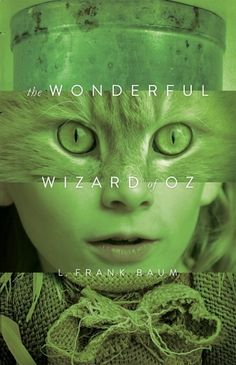 BOOK done not so well ❌ I love modern remakes of classic book covers, but I would never know this is for The Wizard of Oz. The emerald color makes sense, but the lips and cat eyes don't seem to fit.