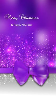 Awesome free wallpaper from Purple Christmas, Christmas Frames, Merry Christmas And Happy New Year, Christmas Pictures, Christmas Art, Happy Holidays, Christmas Ideas, Christmas Phone Wallpaper, Holiday Wallpaper