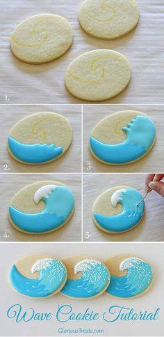 Wave cookies                                                                                                                                                      Más