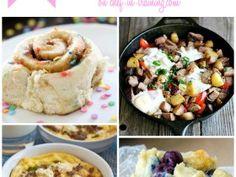 75+ AMAZING Brunch Ideas… This round up is filled with SO many different and delicious ideas. Perfect for holidays, special occasions or fee...