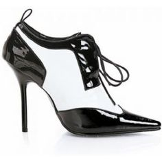 Mules talons aiguilles Milan 60 bi-couleurs de Pleaser : Chaussure à lacets bi-couleurs. Chaussure fermée mais très sexy et confortable à porter. Cet escarpin à un talon haut de 12.1 cm et une petite semelle de 0.3 cm Pointure disponible du 35 à la grande pointure 44...sur www.shopwiki.fr ! #chaussures_femme #mode #mule_talons #femme