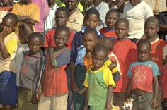 Boys in Ilambilole, Tanzania.  ©2009 Randy Haglund