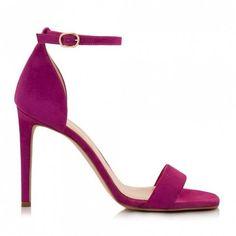 Sante πέδιλο τακούνι μωβαπό συνθετικό καστόρι. Το τακούνι του είναι ντυμένο από συνθετικό καστόρι και έχει ύψος 10 εκ. Διαθέτει εσωτερικό αφρώδη... Stiletto Heels, Shoes, Fashion, Moda, Zapatos, Shoes Outlet, La Mode, Fasion, Footwear