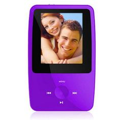 Ematic eSport Clip 4GB MP3 Video Player with Video Recording 1.8 LCD QVGA Display 5MP Digital Camera Purple  Review Buy Now
