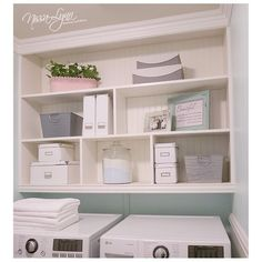 Build Custom Upgrades: Don't make the mistake of only upgrading home spaces seen by guests. Your eyes are reason enough to install attractive upgrades, like beadboard and crown molding, in the laundry room.