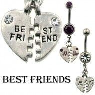 Wholesale Body Jewelry Heart Bestfriends N219 Product Code: N219 Wholesale Body Jewelry, Belly Rings, Heart Jewelry, Bestfriends, Dog Tags, Dog Tag Necklace, Best Freinds, Best Friends, Belly Button