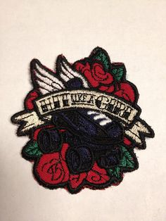 Hit Like a Girl - Sew-on Roller Derby Patch on Etsy, $6.00