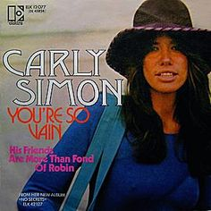 Carly Simon in her Elektra record company days. I loved the idea of the company, when I was much younger, as a music fan. Carly Simon, Marilyn Manson, Ramones, Bowie, Vw Beach, David Geffen, Throwback Tuesday, Greatest Songs, Music Love