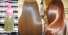 Como fazer o cabelo crescer liso da raiz e mais rápido naturalmente. Essa receita caseira vai deixar seu cabelo liso e longo para sempre.