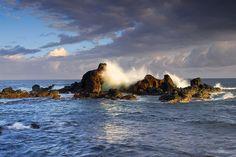 Ho'okipa Beach Rockpile