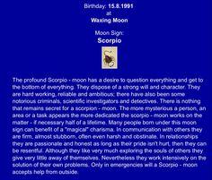 Lunar Scorpio