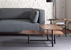 Ligne Roset Piani Tables by Andreas Kowalewski , 2014 / 2015 French Furniture, Furniture Design, Column Design, Ligne Roset, Everyday Objects, Minimal Design, Three Dimensional, Live Life, Minimalism