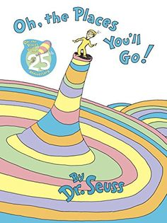 A perennial favorite, Dr. Seuss's wonderfully wise graduation speech is the perfect send-off for children starting out in the world, be they nurser...