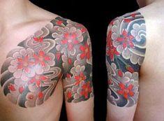 Japanese Flower Tattoos for Men | Top Japanese Flower Tattoos | Floral Flower Tattoos