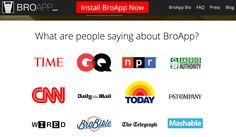 Broapp...la prima App per il Piano Editoriale del rapporto di coppia! Testate che citano Broapp