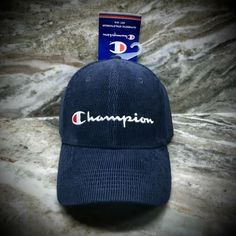 Navy Blue, Blue And White, New Champion, Cool Hats, Mens Fitness, Cincinnati, Corduroy, Knitted Hats, Beanie