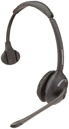 a8692ca3ead Plantronics 86919-01 Spare WH300 Over The Head Monaural Headset DECT 6.0  for CS510 and