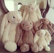 25 cm Lovey coelhinho de pelúcia corte coelho de pelúcia macia brinquedos promocionais coelho coelho boneca de brinquedo de pelúcia com orelhas longas apaziguar coelho(China (Mainland))
