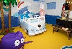 Interior Design Dublin, childern's dream bedroom. Scale model of a camper van bed.