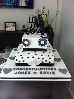 Engagement cake ! :)