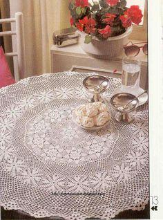 Crochet and arts: Crochet napkin