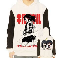 Vicwin-One Kill La Kill Matoi Ryuuko Logo Thick Hoodie Pullover Cosplay (Size S) -- Check out the image by visiting the link.