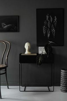 Coco Lapine prints in a beautiful dark setting