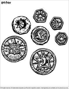 Harry Potter Coloring Page Zauberer Decke Kostenlose Ausmalbilder Malbucher