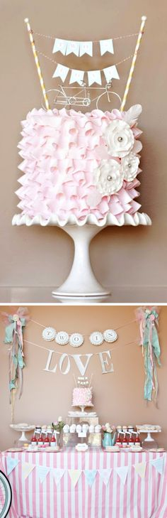 Loralee Lewis Two in Love Shower  #Baby #Shower