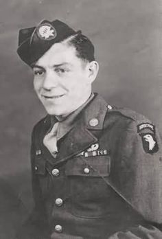 101st Airborne Medic Eugene Roe a member of Easy Company Band of brothers