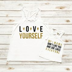 My Mama Don't Like You | Mommy & Me Tank Top Set - Cassidy's Closet - 1